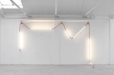 """Os and Oos, '""""Mono Light"""" installation', 2015"""