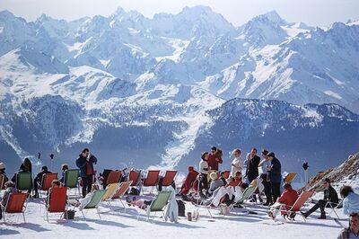 Slim Aarons, 'Cortina d'Ampezzo', 1962