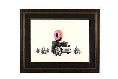 Banksy, 'Donuts (Strawberry)', 2007