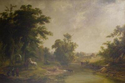 Jacob Cox, 'Landscape Near Indianapolis', 1860s