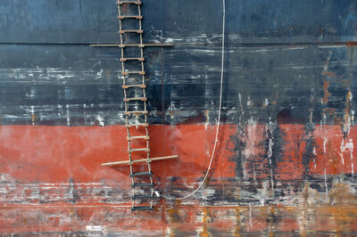 Lou Vest, 'Ladder and Hull', ca. 2012