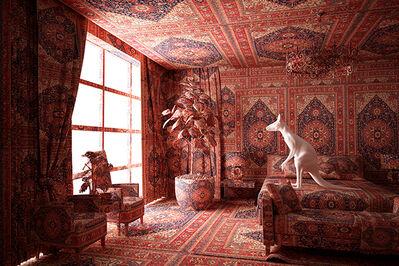 "Farid Rasulov, 'Carpet Interior Series ""Kangaroo in the kitchen""', 2014"