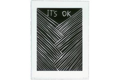David Shrigley, 'It's OK'