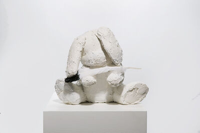 Ivy Naté, 'Sculpture: 'Bunny with Feather'', 2018