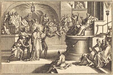 after Sébastien Le Clerc I, 'Christ before Pilate'