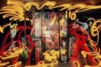 Vicki da Silva, 'McCarren Pool 5', 1985