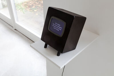 Marianne Halter, 'Daheim ist's gut ( engl.: There is no place like home )', 2012