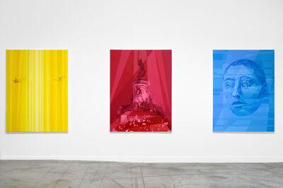 Anna Ostoya, 'Yellow; Red; Blue', 2015