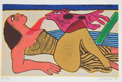 Guillaume Corneille, 'Le baiser ', 1996