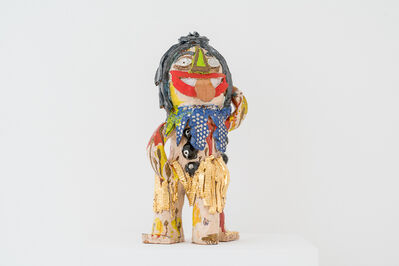 Ramesh Mario Nithiyendran, 'Self-Portrait with Tongue Out', 2018