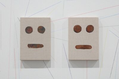 Peter Liversidge, 'Oxidized Paintings', 2014