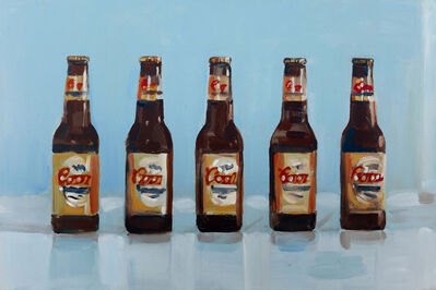 Walter Robinson, 'Two Six Packs (Non-Alcoholic)', 2011