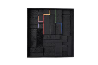 Jonathan Anzalone, 'Black Spectrum', 2015