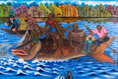 MAORY PRINCE, 'La pirogue d'un grand poisson', 2011