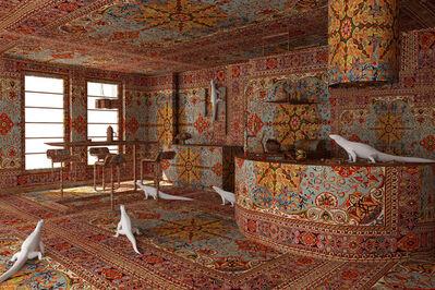Farid Rasulov, 'Iguana in the kitchen', 2014