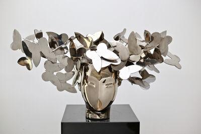 Manolo Valdés, 'Cabeza com Mariposas', 2018