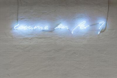 Aron Mehzion, 'Comme en fer', 2001-2008