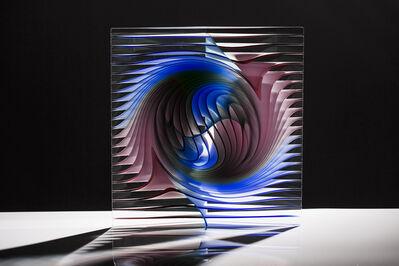 Peter Borkovics, 'Blue and Purple Prism'