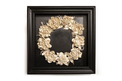 Marcy Lally, 'Peony Wreath', 2018