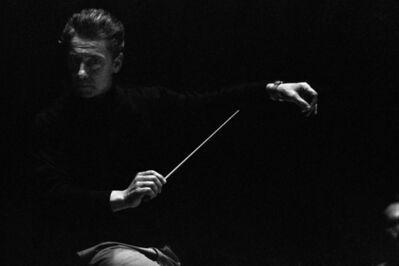Erich Lessing, 'Herbert von Karajan, Salzburg, Austria', 1957