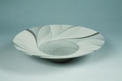 Tsuruta Yoshitaka, 'Large Bowl - Monochrome Work 31', 2013