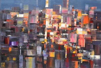 Steven Bewsher, 'Metropolis at Night'