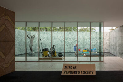 Andres Jaque, 'Phantom. Mies as Rendered Society. Cleaning', 2013