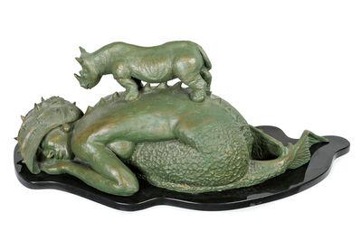 Roberto Fabelo, 'Sirena con Rinoceronte', 2006