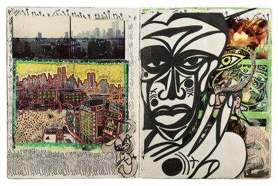 Dan Eldon, 'NYC African Self Protrait', 1988
