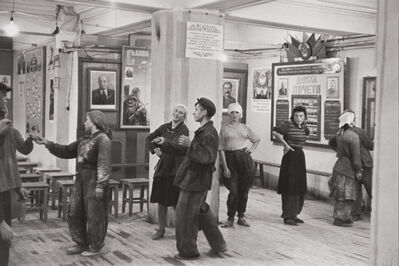 Henri Cartier-Bresson, 'Canteen for workers building the Hotel Metropol, Moscow, USSR', 1954