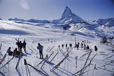 Slim Aarons, 'Zermatt Skiers', 1968
