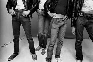 Norman Seeff, 'The Ramones', 1977