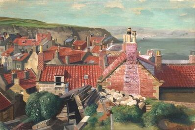 Richard Eurich, 'Red Roofs, Robin Hood's Bay, Yorkshire', 1938