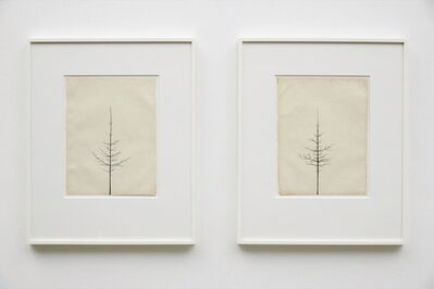 Peter Liversidge, 'Winter Drawing 26 vs 21, Winter Drawing 20 vs 22', 2013