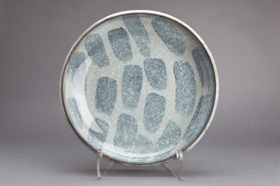 Young-Jae Lee, 'Plate, calcite, and nepheline syenite glaze'