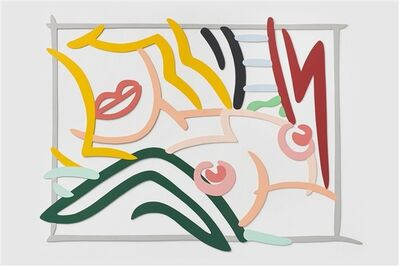 Tom Wesselmann, 'Bedroom Blonde, Black and Green Pillows', 1986
