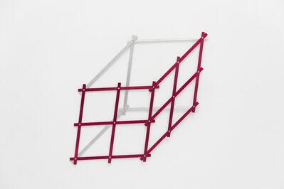Keila Alaver, 'pentágono vermelho - da série Polígonos', 2014