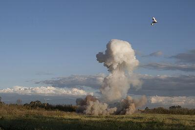 Mario de Vega, '1600-liter tank modified with 6.5 kg of gunpowder', 2012