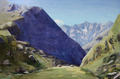 Mike Glier, 'March 7, 2012: Above Routeburn Falls, New Zealand'