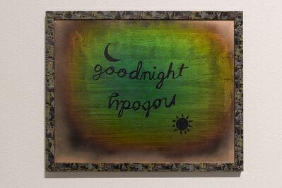Thomas Macker, 'Goodnight Nobody, Prayer, Bedtime Routine ', 2016