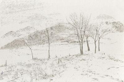 Li Wei 李威, 'Listening to the Snow No.14 听雪 No.14', 2014