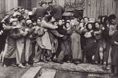 Henri Cartier-Bresson, 'The Last Days of the Kuomintang (market crash), Shanghai, China', December 1948-January 1949