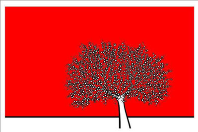 Richard Scott, 'Red Tree', 2012