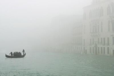 "Silvia Camporesi, 'Foghorns #8 (Ferryman) from the ""Third Venice""', 2011"