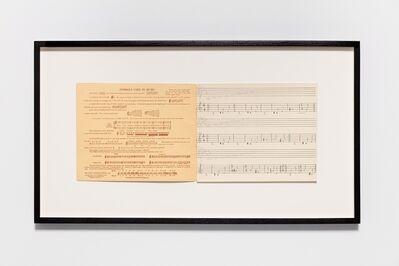 Ari Benjamin Meyers, 'Symbols used in music', 2015