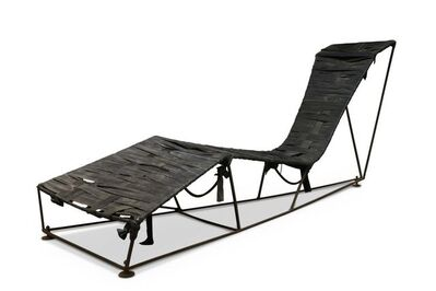 Tom Dixon, 'a prototype chaise', c. early 1990's