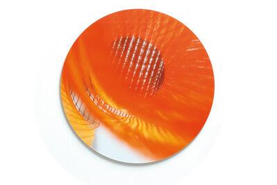 Stef Stagel, 'Round and round it goes (orange)', 2018