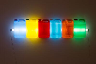 Bill Culbert, 'Strait, Beige with Colour', 2014