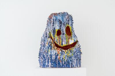 Ramesh Mario Nithiyendran, 'Pointy Blue Head', 2018