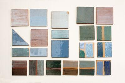 Laura Castro, 'BLUES (color tests)', 2016